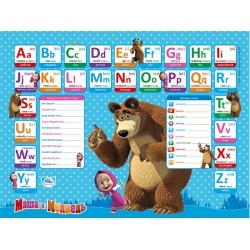 Набор детской мебели Познайка с английской азбукой