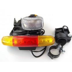 Поворотник+фонарь+стоп-сигнал XC-408