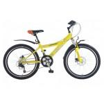 "Велосипед Top Gear Angry Birds Disk 24"" жёлтый"
