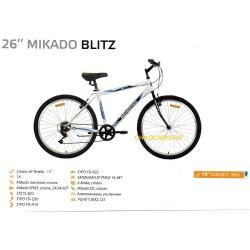 """Велосипед Mikado Blitz 26"""" 18 ск"""