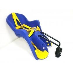 Кресло для ребенка пласт. KMS 4041 на подседельный штырь или вперед на раму