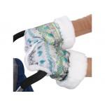 Рукавички для санок с мехом