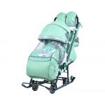 Санки коляска Ника Детям 7-4 Мятный