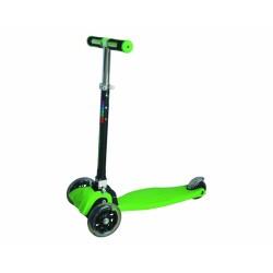 Самокат Novatrack RainBow тротинетка мигающие колеса