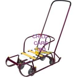 Санки детские Тимка 6 Универсал с выдвижными колесами