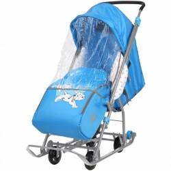 Санки коляска Disney Baby 1 Далматин голубой