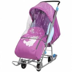 Санки коляска Disney Baby 1 Мари орхидея