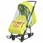 Санки коляска Disney Baby 1 Тигр лимонная