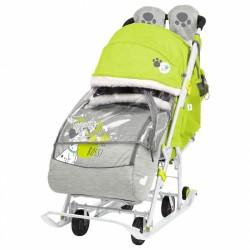 Санки коляска Disney Baby 2 Далматин лимонный
