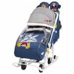 Санки коляска Disney Baby 2 Микки Маус синий