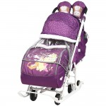 Санки коляска Disney Baby 2 Винни баклажан
