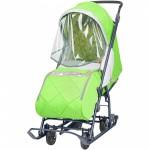 Санки коляска Наши Детки 3 зеленый