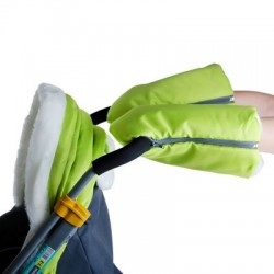 Санки коляска Ника Детям 7-2 Люкс Жираф с выдвижными колесами