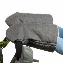 Санки коляска Ника Детям 7-3 Коричневый Brown
