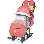 Санки коляска Ника Детям 7-3 Красный Red