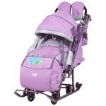 Санки коляска детская Ника Детям 7-4 Лилия