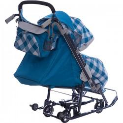 Санки коляска Ника Детям 7-4 Капри
