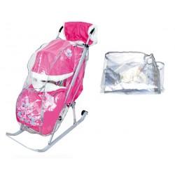 Дождевик для санок-колясок для защиты от ветра и осадков