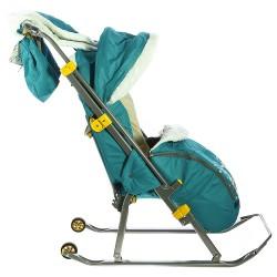 Санки коляска Ника Детям 6 Совушки