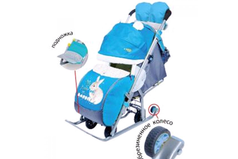 санки коляска ника детям 7 2 описание