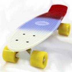 Скейтборд Hubster Cruiser дека 22 multi-color