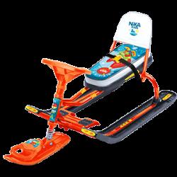 Снегокат для детей от 2 лет со спинкой