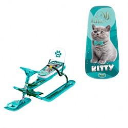 """Снегокат детский Тимка Спорт 4-1 - """"Kitty"""""""
