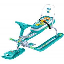 Снегокат детский Тимка Спорт 4-1 Кот