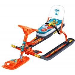 Снегокат детский Тимка Спорт 4-1 Лисенок