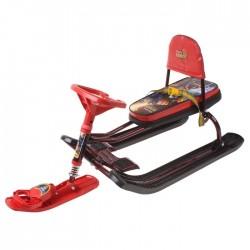 Снегокат детский Тимка Спорт 4-1 Робот со спинкой