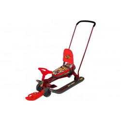 Снегокат Тимка Спорт 6 Граффити красный