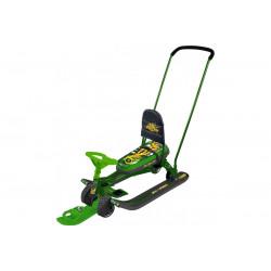 Снегокат Тимка Спорт 6 Граффити зеленый