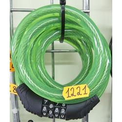 Трос-противоугонка кодовый сменный 12 * 150 см.