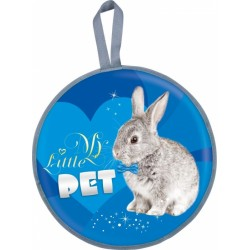 Ледянка Ника мягкая круглая Кролик