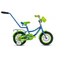 """Велосипед Forward Funky Boy 12"""" с родительской ручкой"""