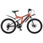 "Велосипед Stinger Highlander 100 D 24"""
