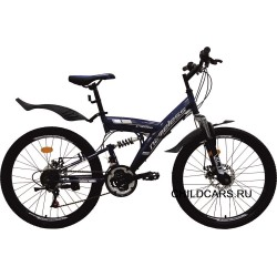"""Велосипед Nameless V4000D 24"""" (подростковый)"""