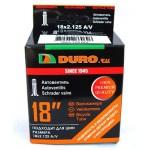 """Велосипедная камера DURO 18"""" - 18х2.125 A/V"""