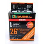 """Велосипедная камера DURO 26"""" 26 х 2.125 A/V - 48 высокий нипель"""