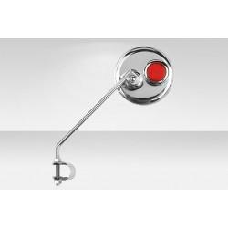 Зеркало Stels 501 круглое стальное с катафотом (1 шт.)